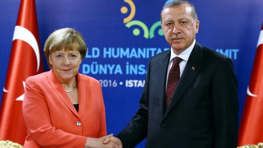 Erdoğan ile Merkel Doğu Akdeniz'i görüştü!
