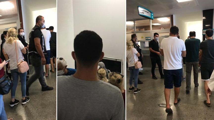 Devlet hastanesinde korkutan görüntüler! Corona kuralları unutuldu