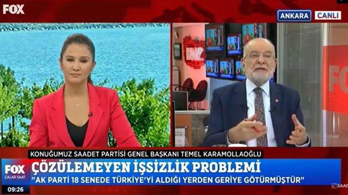 Karamollaoğlu'ndan 'Cumhurbaşkanı adaylığı' çıkışı