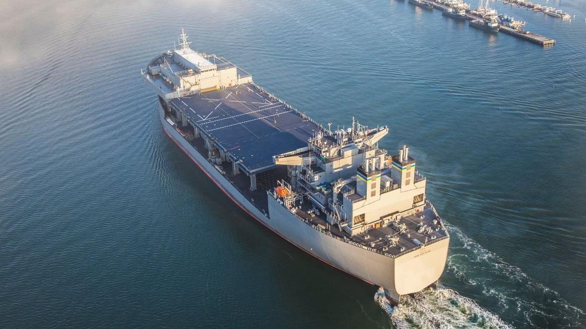 ABD 'yüzen askeri üssü'nü Doğu Akdeniz'e gönderdi