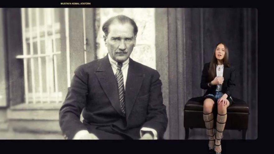 Küçükken Atatürk'ün fotoğraflarına bakıp 'dede' derdim