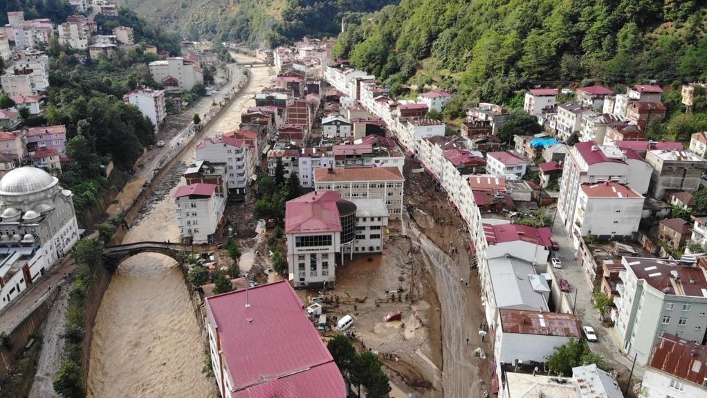 CHP sel felaketinin yaşandığı Giresun'a heyet gönderdi
