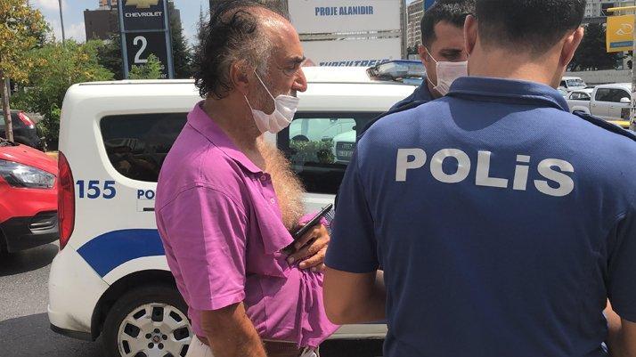 İstanbul'da hemşireye saldıran magandaya linç girişimi