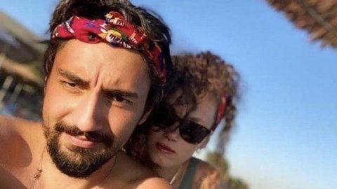 Melisa Şenolsun'dan Umut Evirgen'li aşk fotoğrafları