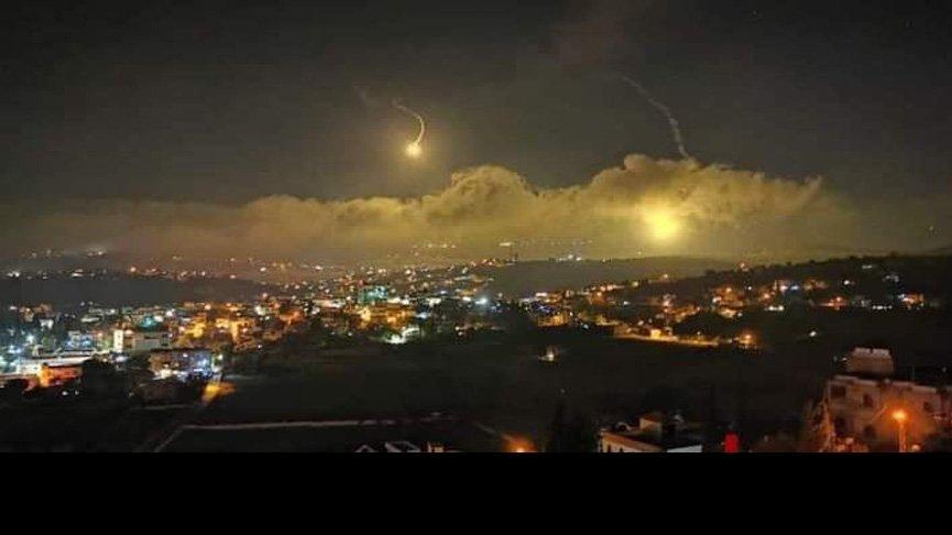 İsrail sınıra fosfor bombası attı