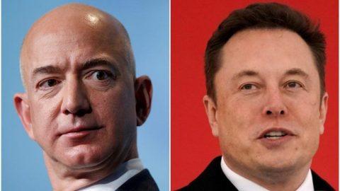 Bezos 200 milyar doları, Musk 100 milyar doları aştı