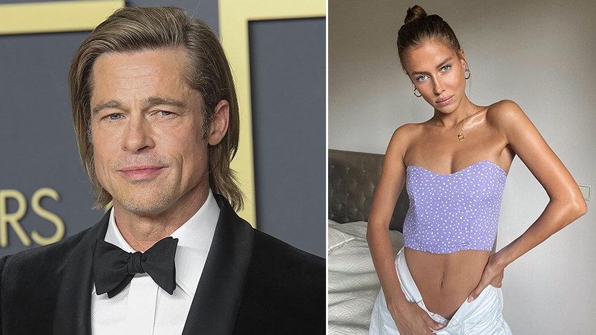 Brad Pitt, aşkı Alman model Nicole Poturalski'de buldu