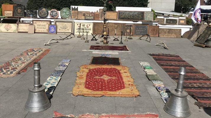 İstanbul'da bin 147 tarihi eser ele geçirildi