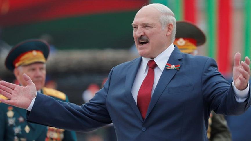 Belarus'ta Lukaşenko'dan yaptırım yanıtı: Bize diz çöktüreceklerini zannettiler
