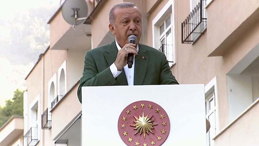 Erdoğan: Yaylaları betona boğarsak gün gelir hep birlikte bunun pişmanlığını da yaşarız