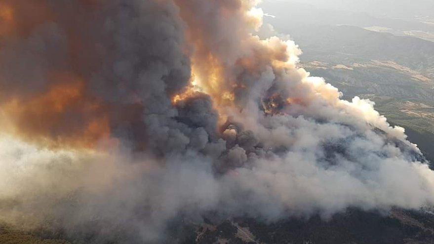 Ankara'daki orman yangını kontrol altına alındı