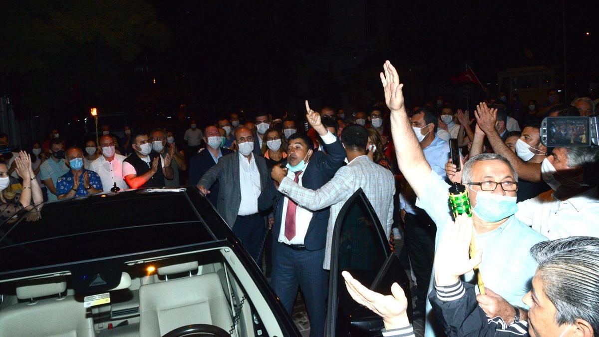 Kırşehir'de 30 Ağustos kutlamasına izin vermediler, arbede çıktı
