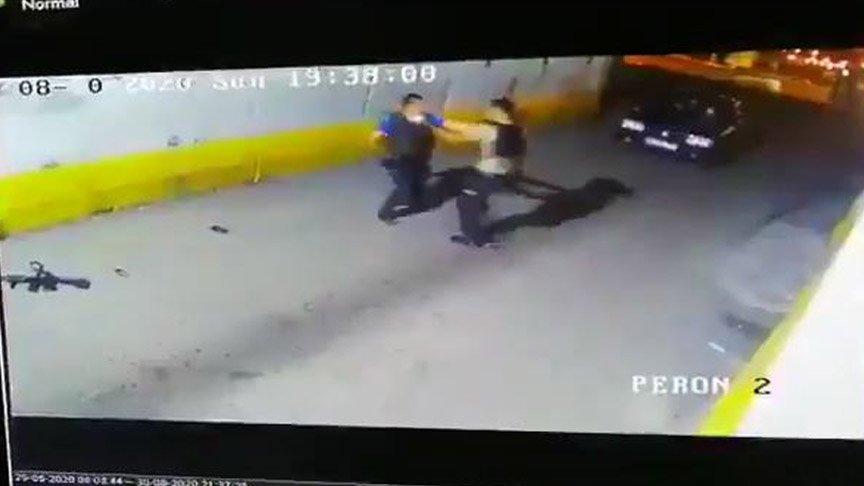 Kavga eden bekçi ve polis görevden uzaklaştırıldı!