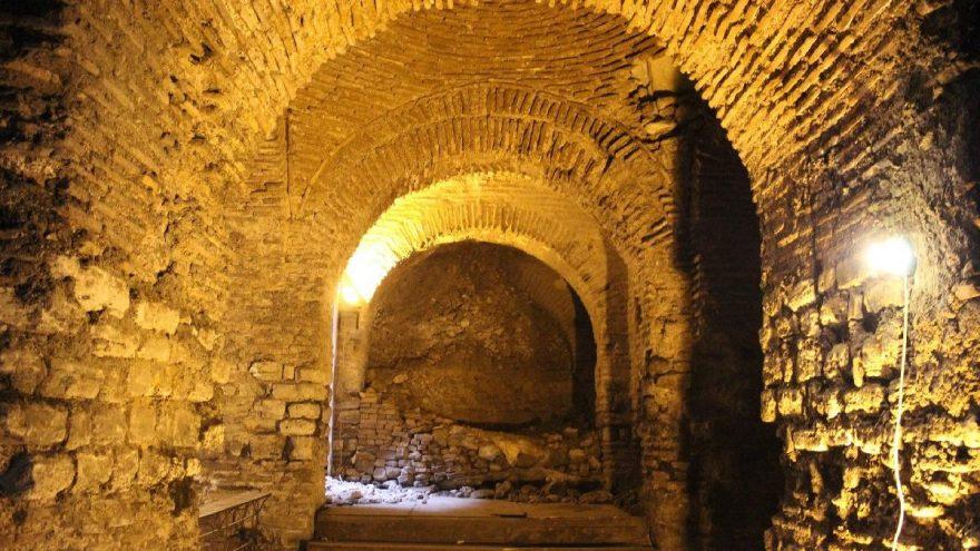 İstanbul'un gizli sarayı böyle görüntülendi