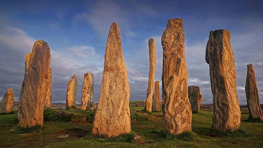 İskoçya'nın 5 bin yıllık gizemli Callanish Taşları