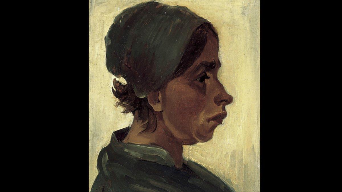 Vincent van Gogh'un 'Kadın Başı' 14 milyon TL'ye evine döndü!