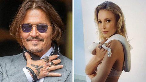 Johnny Depp'in Alman oyuncu Sophie Hermann ile birlikte olduğu iddia edildi