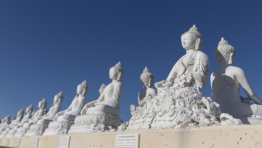 ABD'de 1000 Buda heykelli tapınak kuruldu