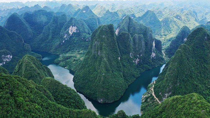 Çin'in meşhur Mulun Milli Parkı