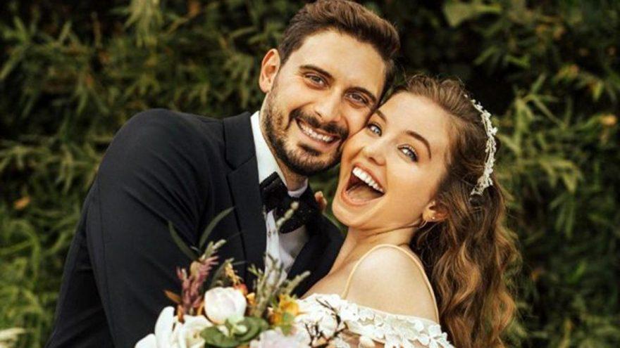 Sihirli Annem dizisinin Ceren'i Gizem Güven evlendi