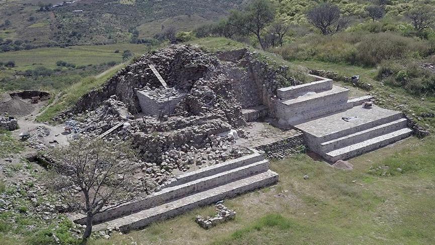 Meksika'nın gizemli piramitlerinde restorasyon çalışmaları sürüyor