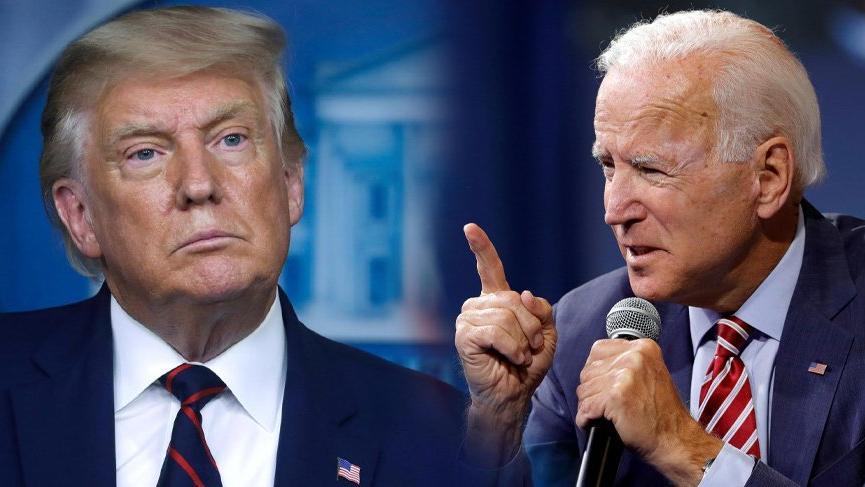 ABD'de başkanlık tartışması anketi: Trump, Biden'ı yenecek! - Son dakika  dünya haberleri