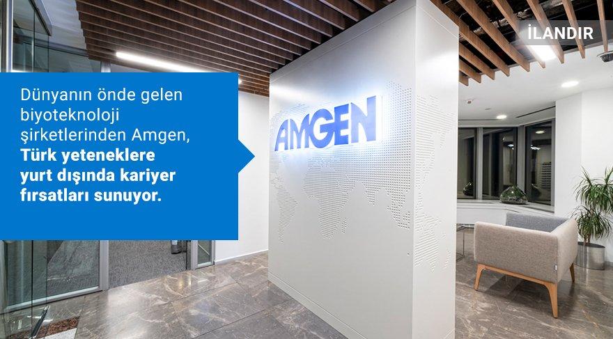 Dünyanın önde gelen biyoteknoloji şirketlerinden Amgen, Türk yeteneklere yurt dışında kariyer fırsatları sunuyor.