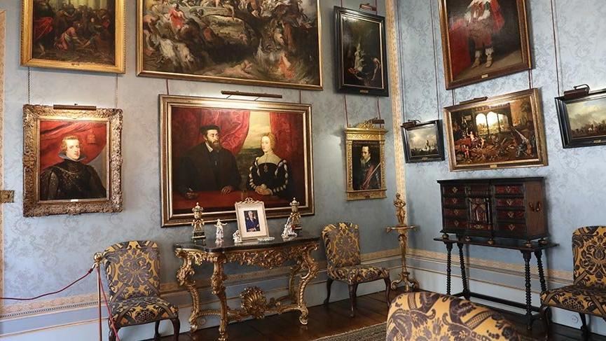 İspanya'nın tarihi Liria Sarayı