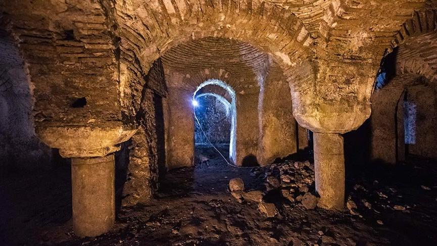 İstanbul'un 1000 yıllık Seferikos Sarnıcı