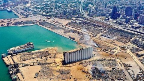 Beyrut patlamasının faturası Munich Re'ye çıktı