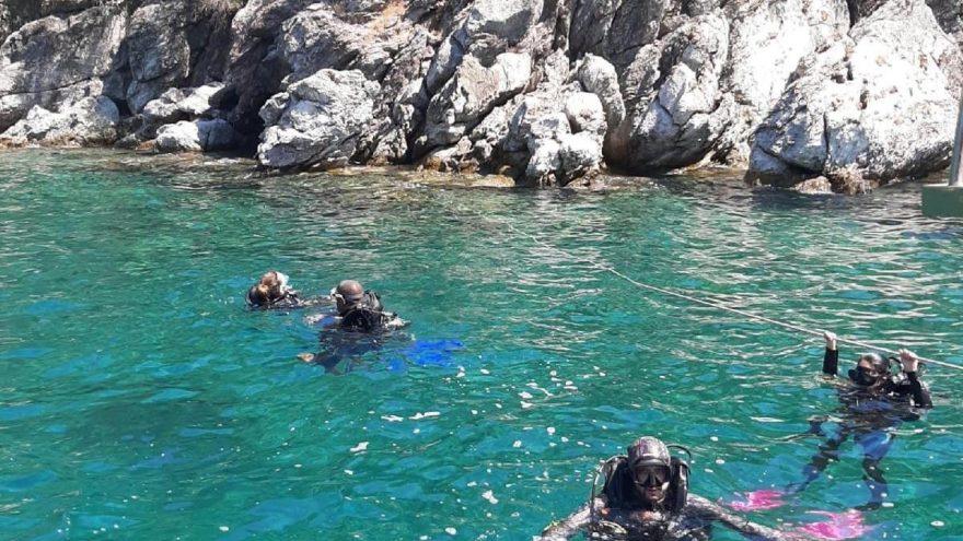 Marmaris'te tüple dalışa ilgi yoğun