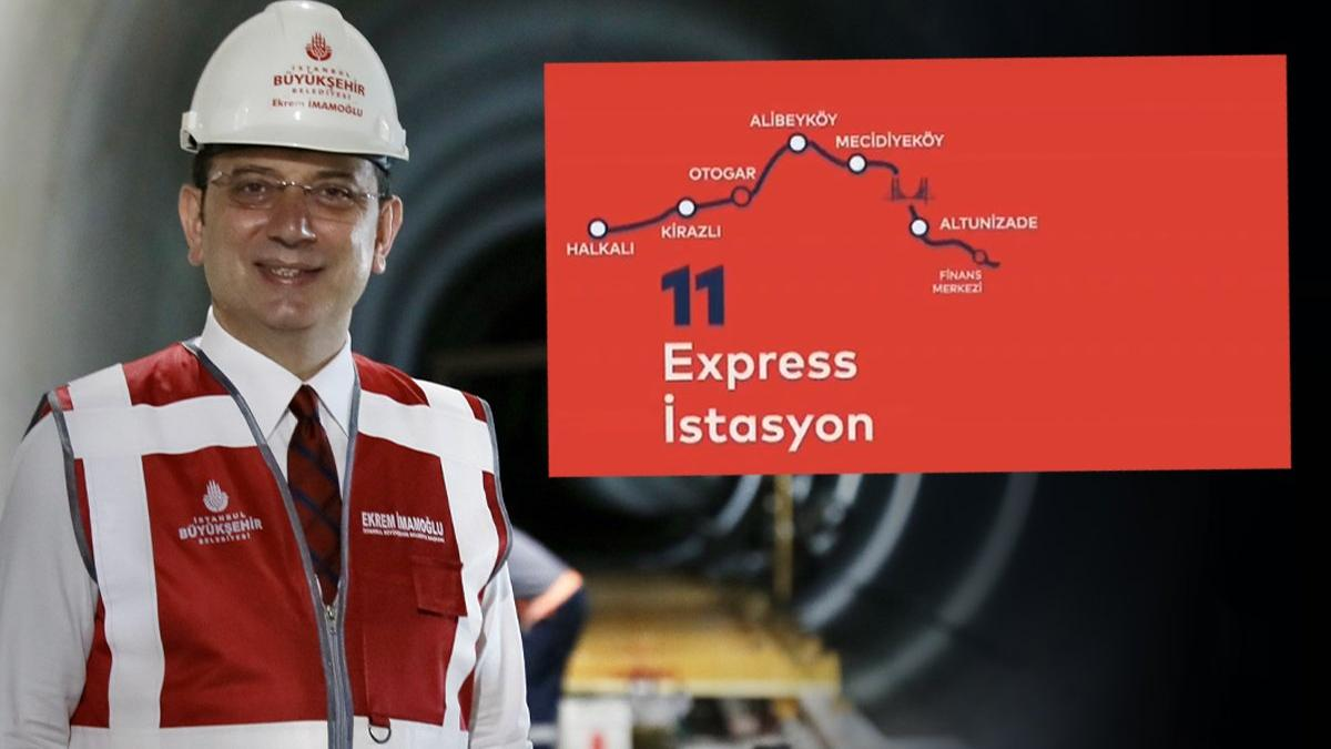 İmamoğlu duyurdu: Mahmutbey-Mecidiyeköy metrosu 29 Ekim'de açılıyor