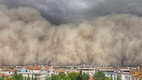 Atmosfer bilimcisi Prof. Dr. Mikdat Kadıoğlu anlattı: İşte Ankara'daki toz fırtınasının sebebi