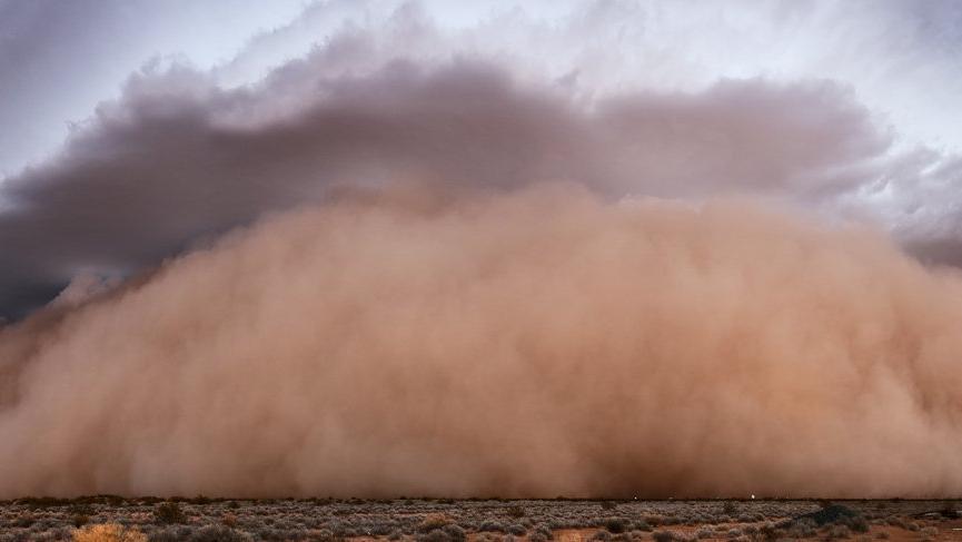 Meteoroloji'den İç Anadolu için toz fırtınası uyarısı!