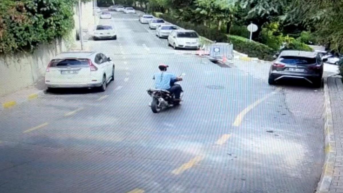 Motosikletli mazgal hırsızları yakalandı