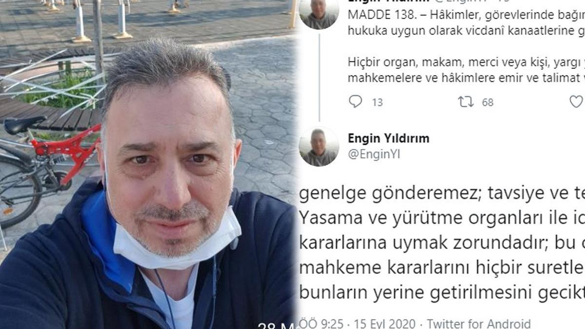 AYM üyesi Yıldırım'dan İçişleri Bakanı Soylu'ya 'bisikletli' yanıt!