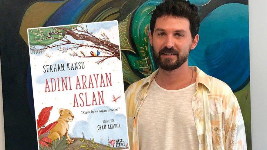 Serhan Kansu'dan yeni kitap: Adını Arayan Aslan