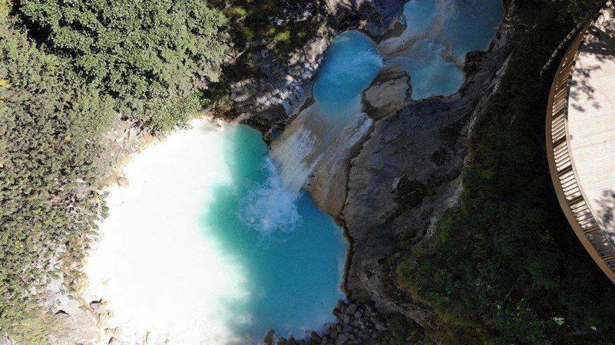 Mavi Göl doğal güzelliğiyle büyülüyor