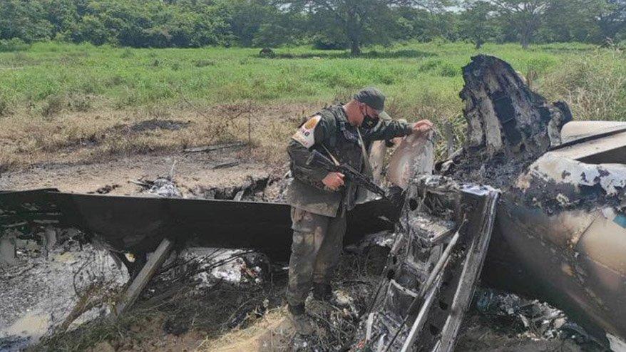 Veneuzela duyurdu: Uyuşturucu taşıyan ABD uçağı vuruldu!