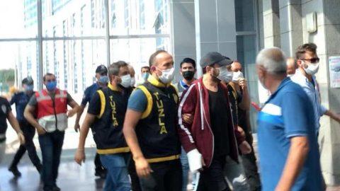 Halil Sezai polis eşliğinde adliyeye getirildi