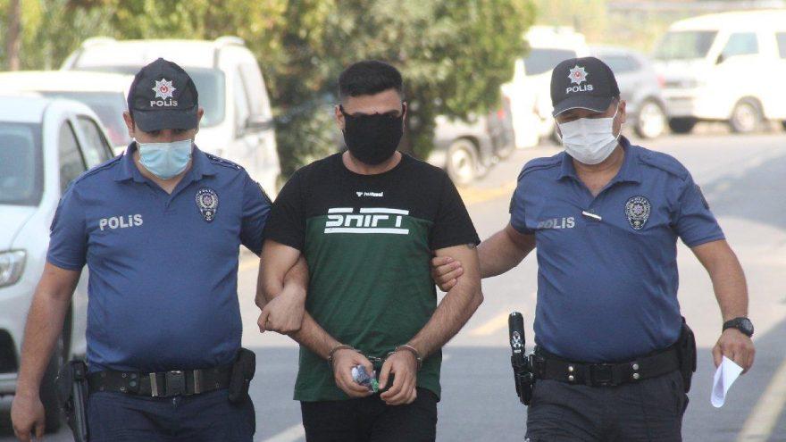Eski sevgilisini dokuzuncu kattan sarkıtan psikopat tutuklandı
