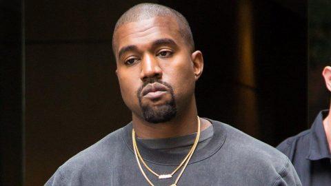 Kanye West'ten tepki çeken protesto