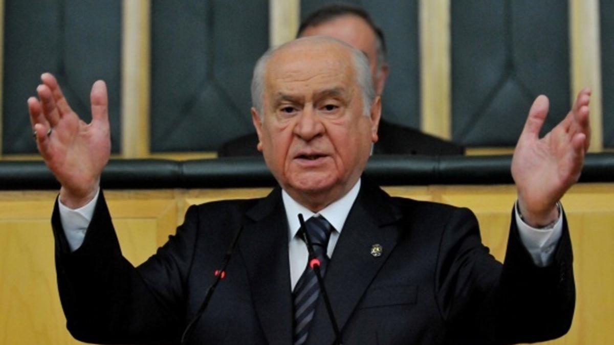 MHP lideri Bahçeli: Türk Tabipleri Birliği corona kadar tehlikelidir