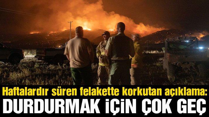 ABD'deki yangın felaketinde endişe verici açıklama: Durdurmak için çok geç!