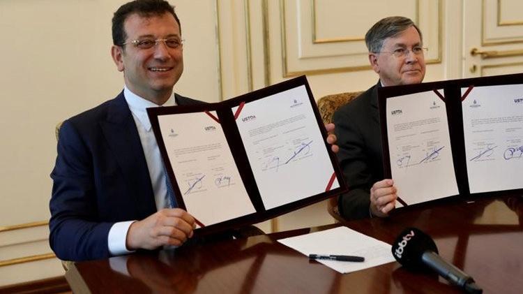 İBB ve USTDA arasında 5 milyon dolarlık hibe anlaşması!