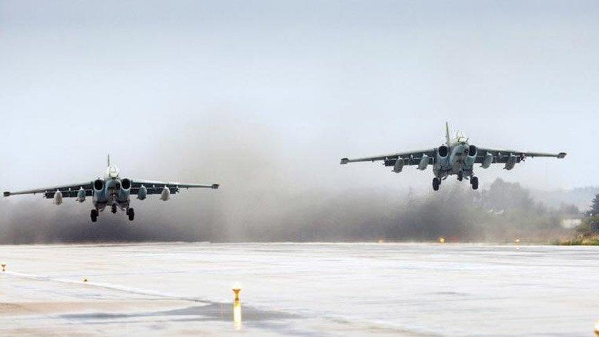 Rusya'da düşen Su-35 tipi uçağı başka bir uçak yanlışlıkla vurmuş!