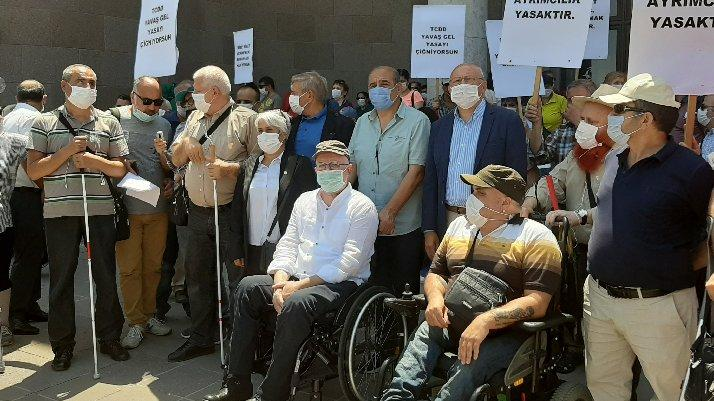 TCDD'den yeni skandal: Engelli vatandaşlara 'gizli' kota uygulaması