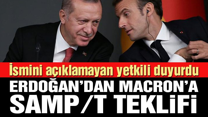 Fransa-Türkiye hattında flaş iddia: Erdoğan, Macron'dan hava savunma sistemi istemiş