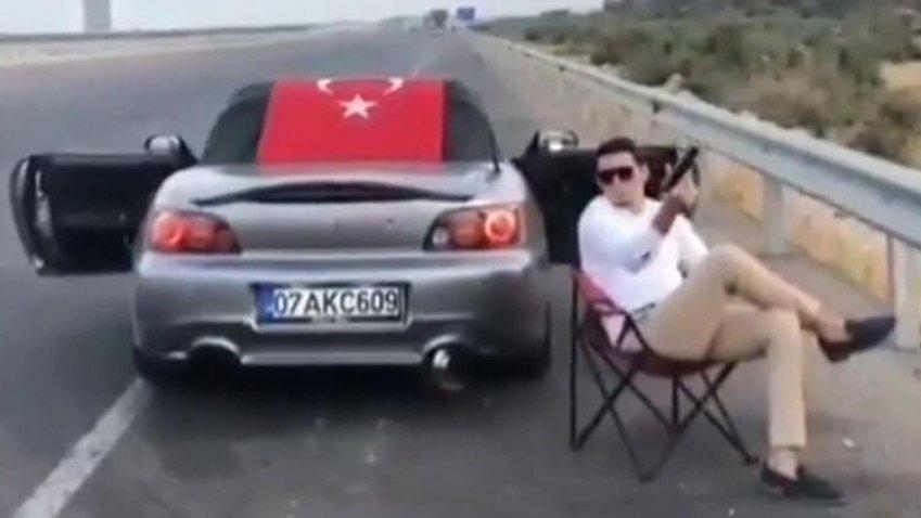 Türkiye'yi ayağa kaldıran otoyol magandası yakalandı