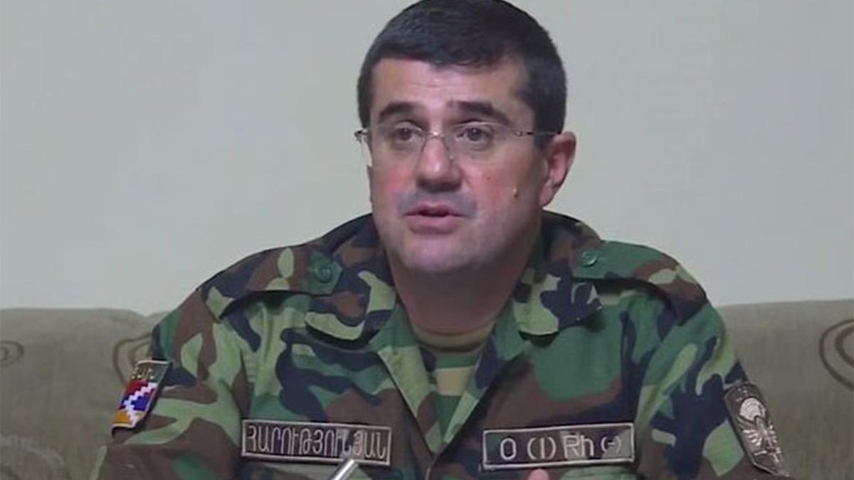 Ermenistan işgalindeki Karabağ'ın sözde liderinden itiraf: Tüm pozisyonları kaybettik
